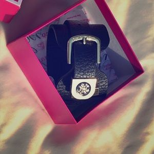 Juicy Couture Black Adjustable Bracelet